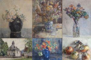 aquarellen Bogman, Van Boxel, Bruyn Ouboter. Een kleine greep uit de collectie